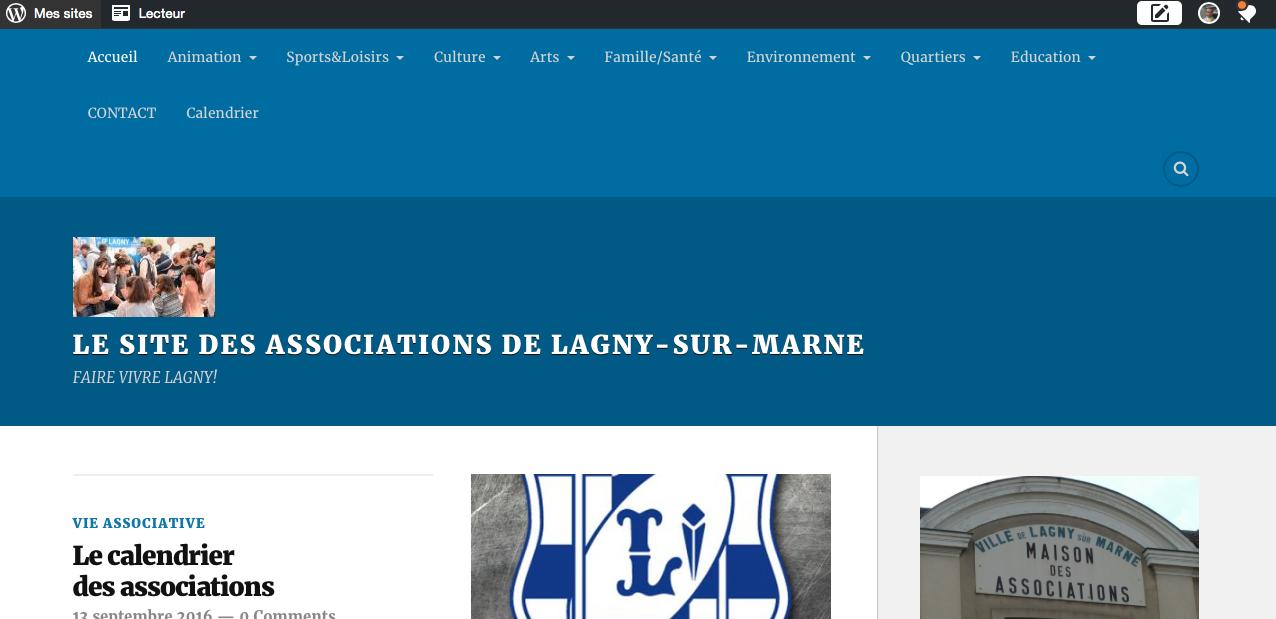 Site des associations de Lagny www.assoslagny.com