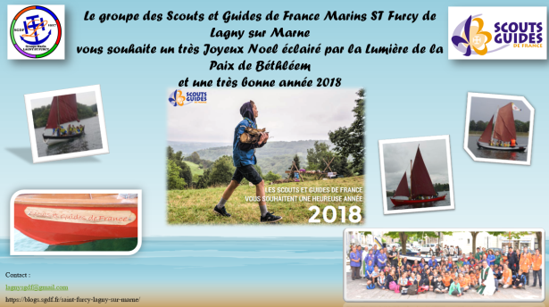 Carte voeux 2018 Groupe Lagny ST Furcy